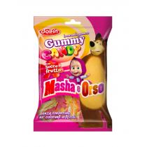 Masha si Ursul - Jeleuri Gumate cu Fructe 80gr