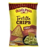 Tortilla Chips, Chipsuri fara Gluten,  Old El Paso Chili 185g