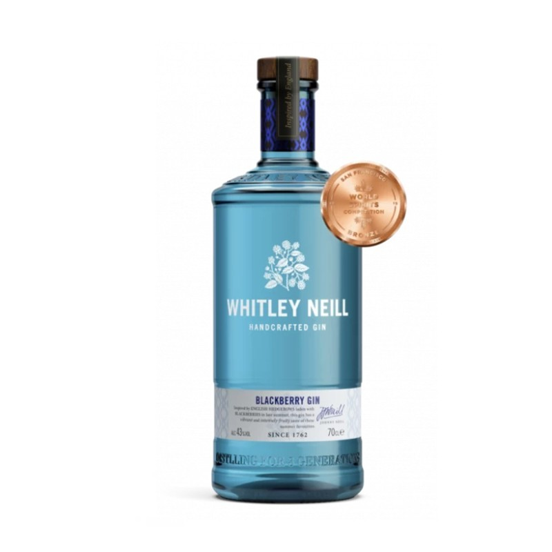 Gin Blackberry Whitley Neill, Alcool 43%, 0.7L