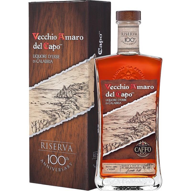 Caffo - Vecchio Amaro Del Capo Riserva - Digestiv 37,5% Alc - 0.7 L