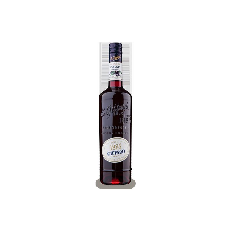 Giffard - Lichior Cassis Noir de Bourgogne 20% Alcool 0.7l