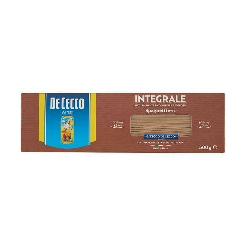 De Cecco - Paste Integrale Spaghetti 500g
