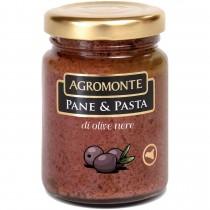 Agromonte Pane E Pasta - Crema din Masline Negre Simpla 200g