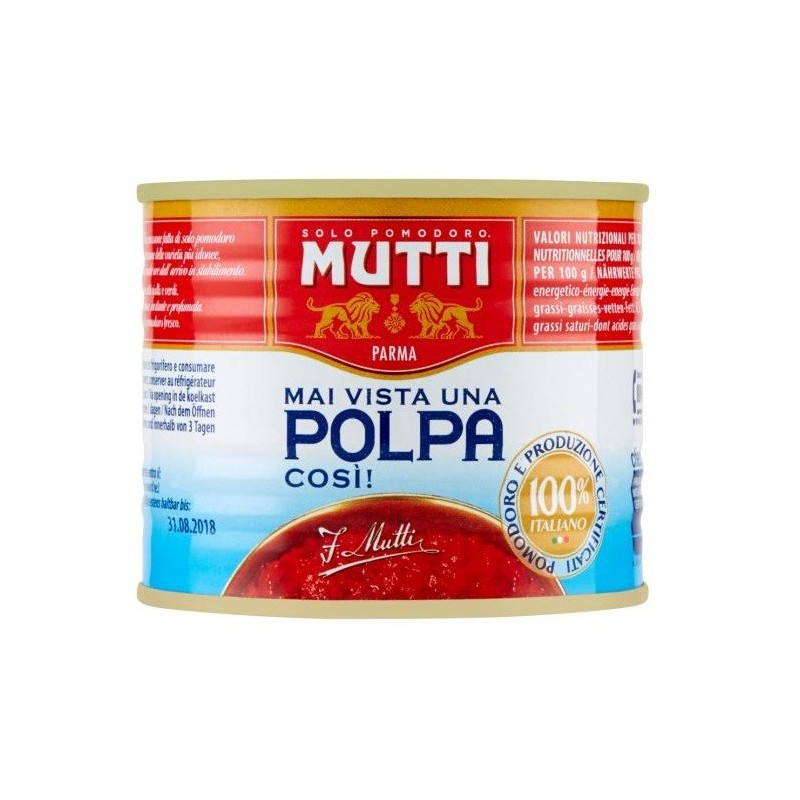 Mutti - Rosii Taiate Fin 210g