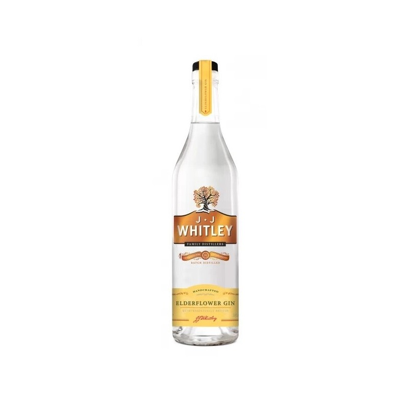 Gin Elderflower Jj Whitley, Alcool 40%, 0.7L