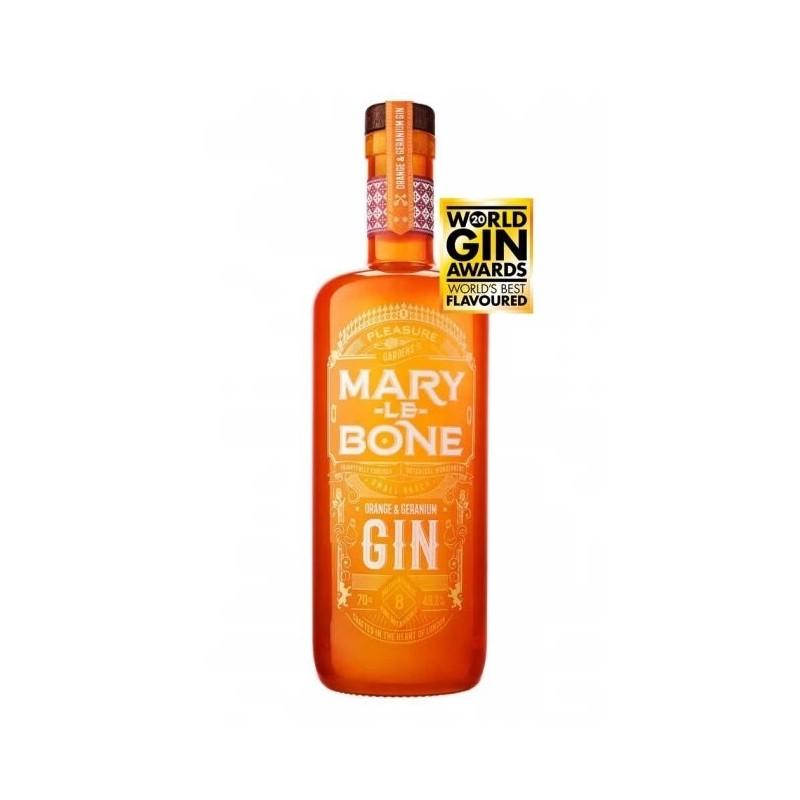 Gin Orange & Geranium Marylebone, Alcool 46.2%, 0.7L