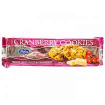 Merba - Cookies cu Ciocolata Alba si Cranberry 150g