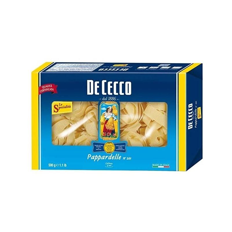 De Cecco - Paste Nidi Semola Pappardelle 500g