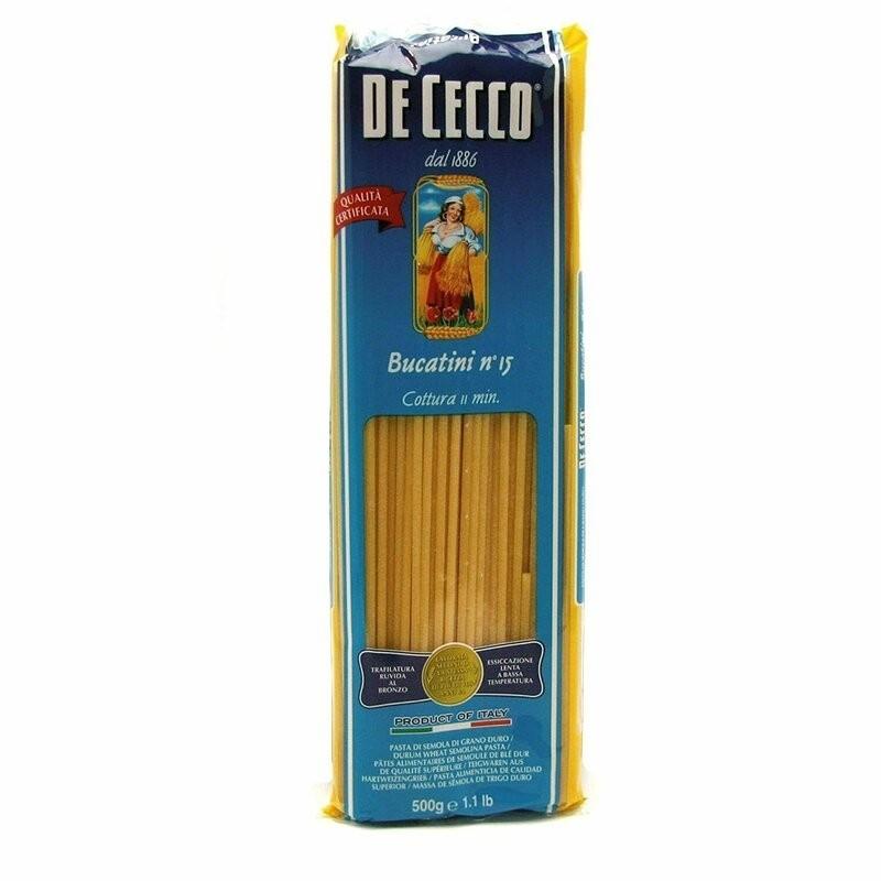 De Cecco - Paste Bucatini 500g