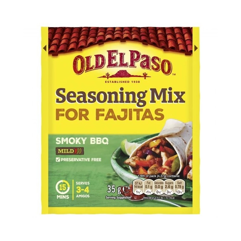Mix Condimente Fajita Old El Paso 30g