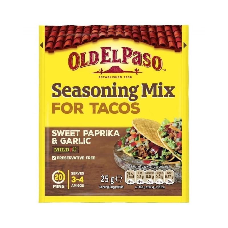 Old El Paso - Mix Condimente Taco 25g