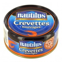 Nautilus - Creveti Salbatici Mici 145g