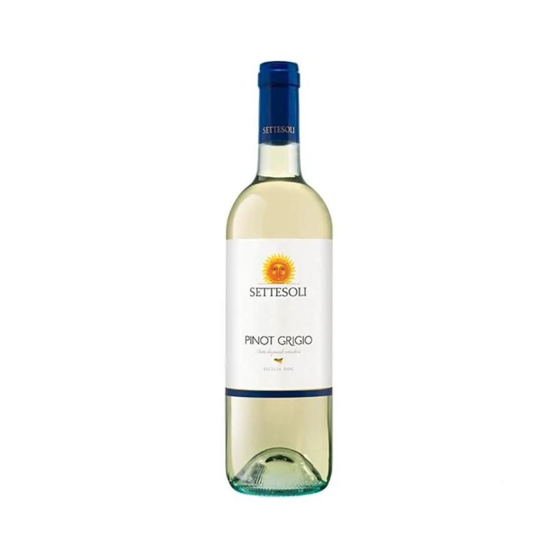 Settesoli - Vin Alb Pinot Grigio Sicilia Doc 750 ml