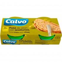 Calvo - Pate de Ton cu Masline 2x75g
