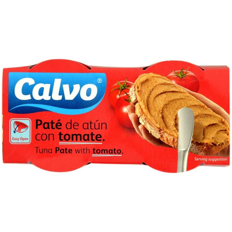 Pate de Ton cu Rosii Calvo, 2 x 75 g