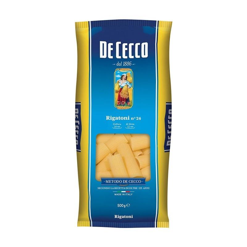 De Cecco - Paste Rigatoni 500g