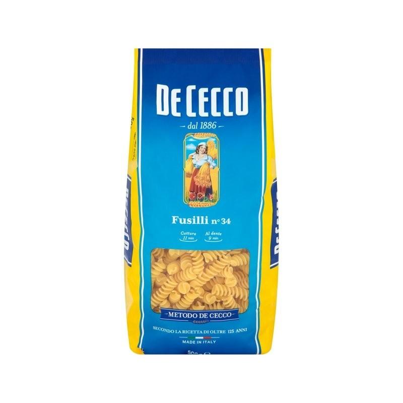 Paste Fusili De Cecco, 500g