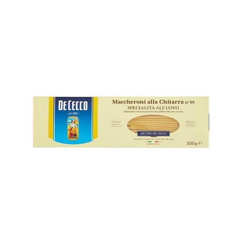 De Cecco - Paste cu Ou Maccheroni Alla Chitarra 500g