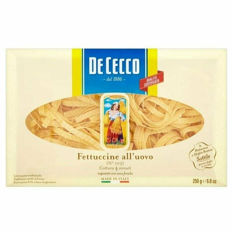 De Cecco - Paste cu Ou Fettuccine Matassine 250g