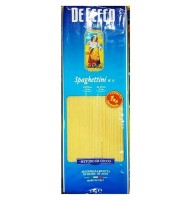 Paste Spaghettini De Cecco...