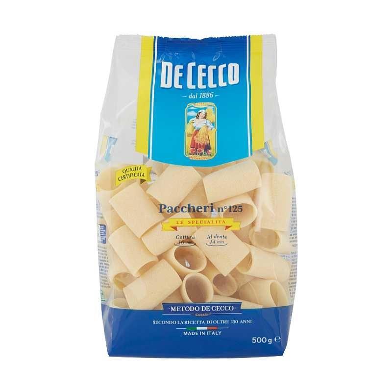 De Cecco - Paste Paccheri 500g