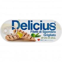 Delicius - File de Macrou in Ulei de Masline 110 g
