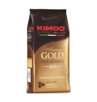 Kimbo - Cafea Aroma Gold 100% Arabica Boabe 250g