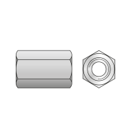 Piulita Cuplare Otel Zincat-M6 X 30 X 10
