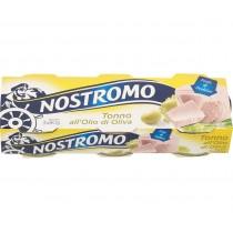 Ton in Ulei Masline Nostromo - 3x80g