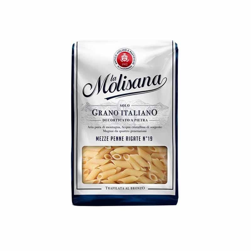Paste Mezze Penne Rigate La Molisana No19, 1kg
