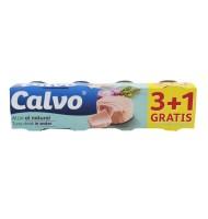 Ton in Sos Natur Calvo 4x80g