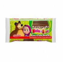 Baton Ciocolata cu Orez Expandat Dolfin, Masha si Ursul -  40gr