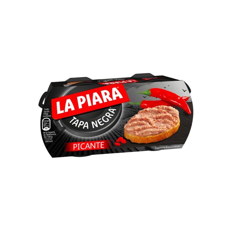 Pate Picant de Porc La Piara, 2 x 73 g