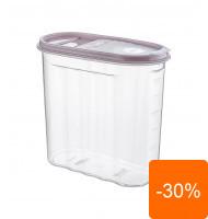 Cutie pentru Alimente, din Plastic, cu Capac, 1.80 l, Tuffex Tp380