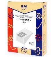 Sac Aspirator Samsung Vp7, Hartie, 5 x Saci, K&M