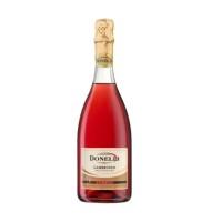Vin Spumant Roze Lambrusco Rosato IGT Emilia Donelli 0.75 l