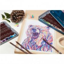 Set 12 creioane colorate Coloursoft Derwent