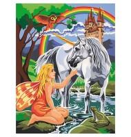 Pictura pe Numere Unicorn