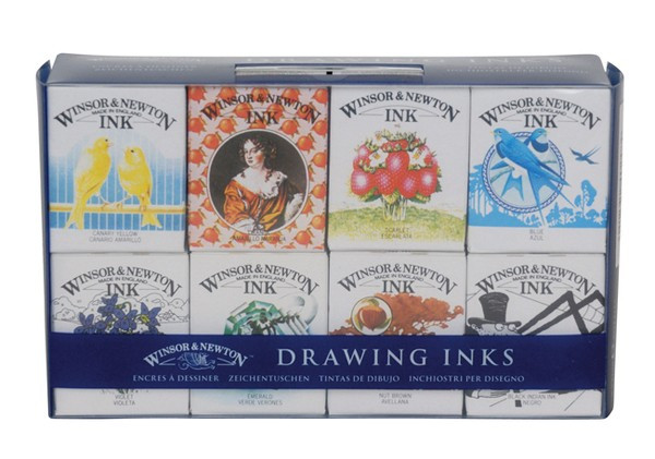 Set cerneala desen Henry Collection - Winsor Newton