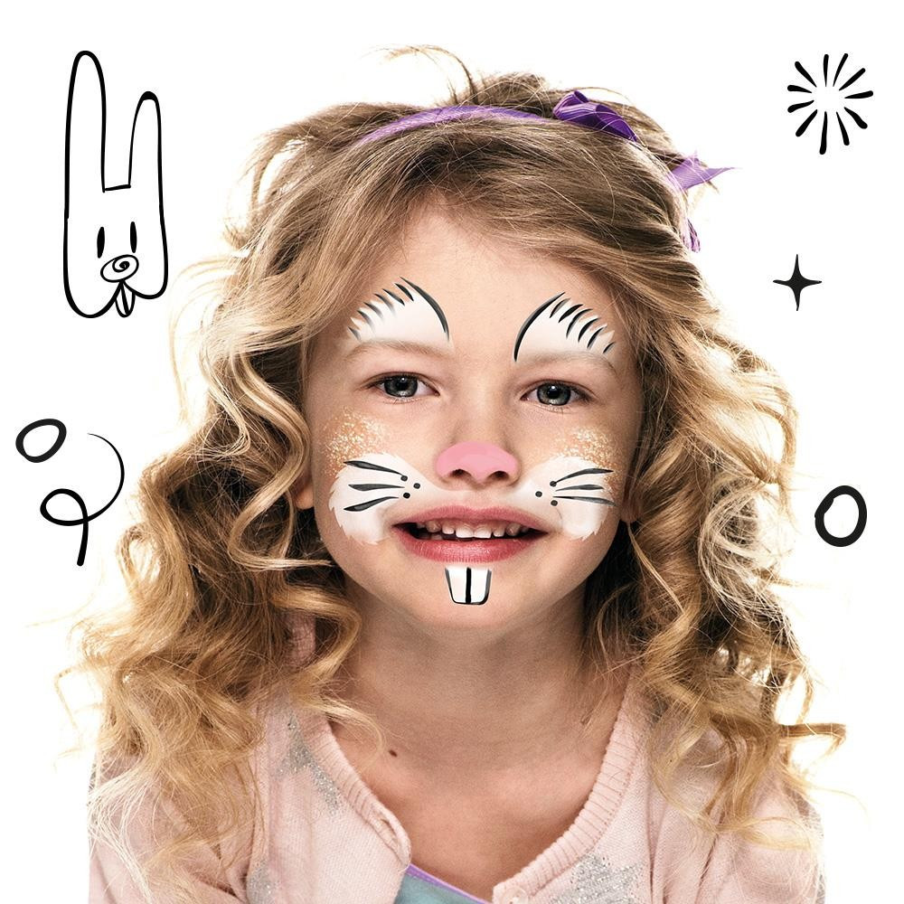 Set Pictura pe Fata Bunny Snazaroo