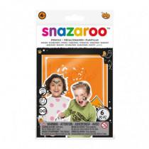 Set 6 Sabloane Pictura pe Fata Halloween, Snazaroo