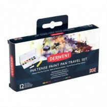 Inktense Paint Pan Travel Set Derwent