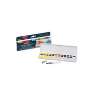 Set 24 Inktense Paint Pan Derwent
