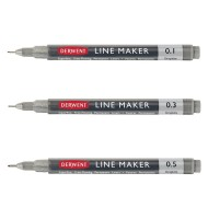 Set 3 liner Line Maker Graphite Derwent