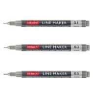 Set 3 liner Line Maker Graphite Derwent