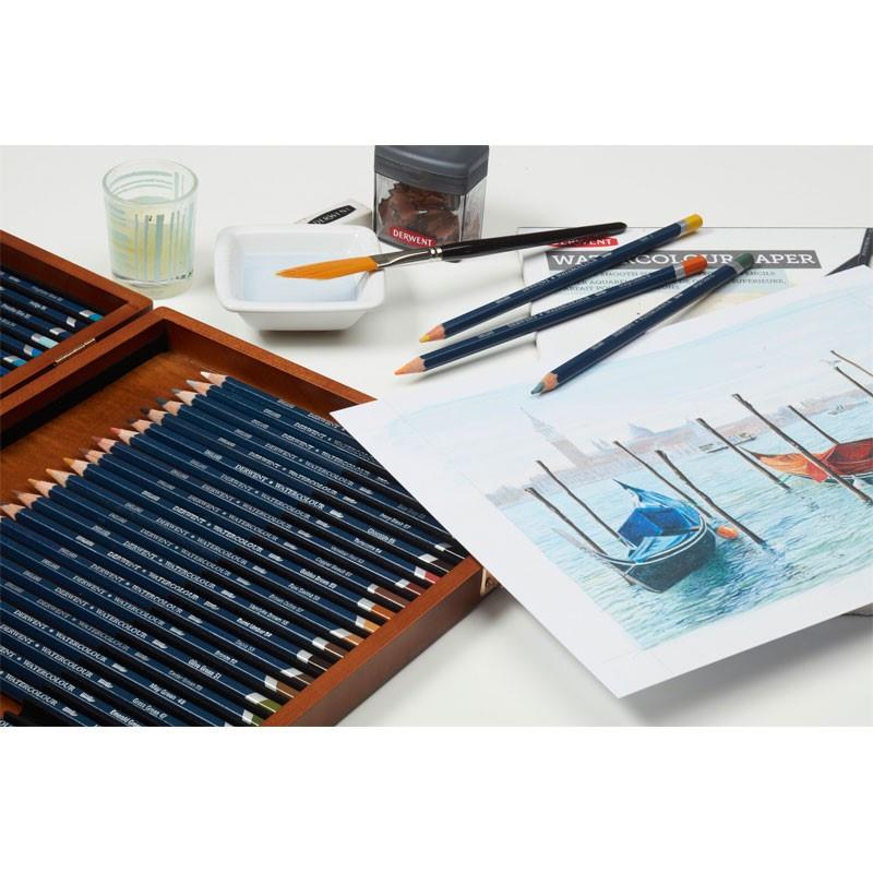 Set 36 creioane acuarela Watercolour Derwent