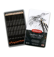 Set 12 creioane grafic Soft...