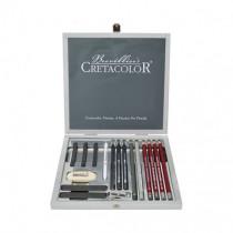 Set creioane Silver Graphite Box Cretacolor