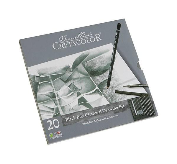 Set creioane Black Cretacolor