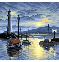 Pictura pe Numere Port la...